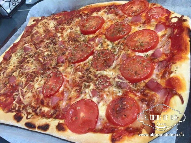 Os enseño una que hago poniendo rodajas de tomate natural...buenísima!