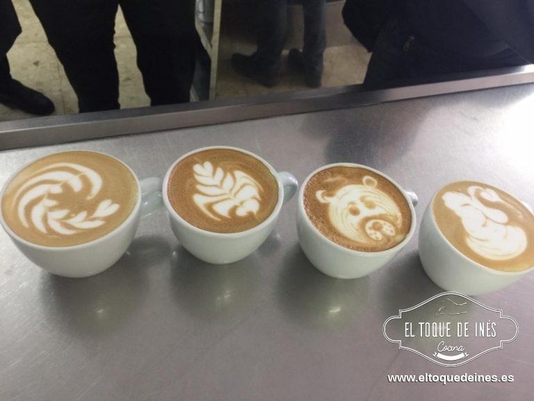 Y a Damián... que hace maravillas con un café con leche, enhorabuena por todos tus triunfos.