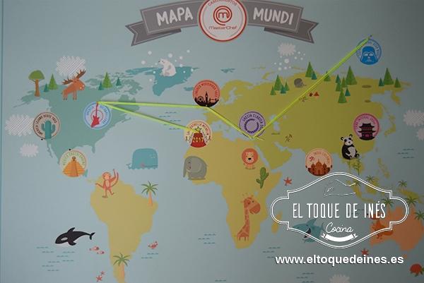 Viajamos a diferentes países del mundo, aprendimos de su gastronomía y sus costumbres.