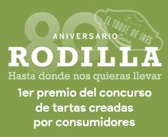 80 Aniversario Rodilla - Primer premio del concurso de tartas creadas por consumidores
