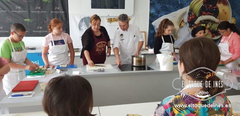 Gracias a Oscar  y María Luisa, los chef que cocinan a diario con ellos...
