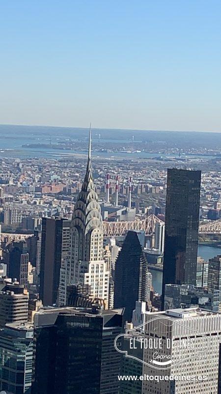 Y aquí os dejo unas fotitos de New York ;-))  El edificio Chrysler.