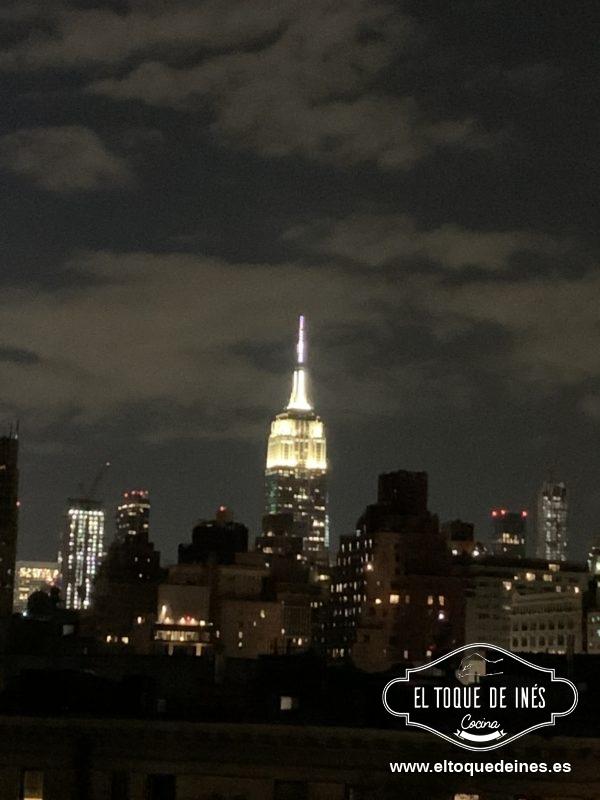 El Empire State desde casa ...