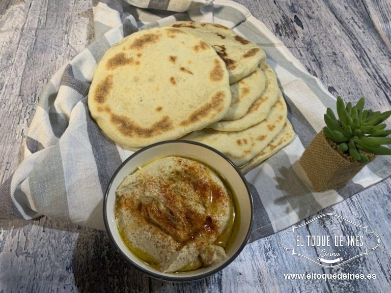 En nuestro caso lo acompañamos de hummus que tenéis la receta en el blog también.