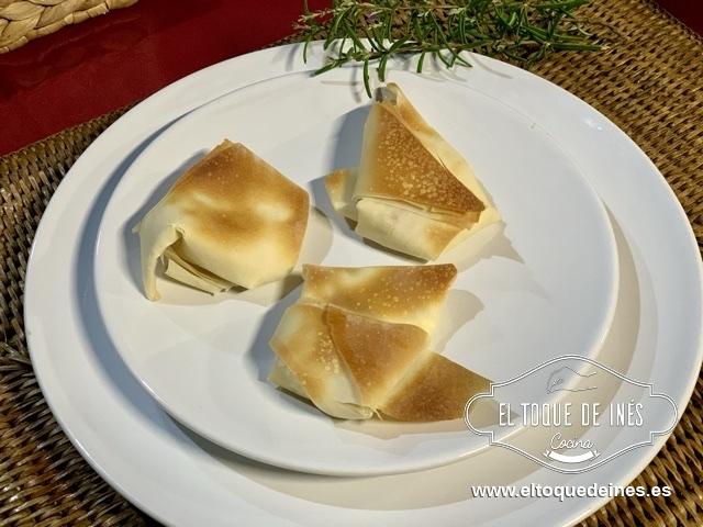 Una vez caliente el horno los metemos dentro y calculáis 12-15 minutos, que estén bien dorados.